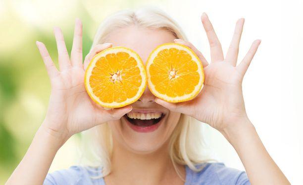 Syö entistä enemmän kasviksia ja hedelmiä.
