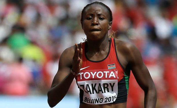 Kenialaissivusto väittää, että Joyce Zakary antoi positiivisen dopingnäytteen.