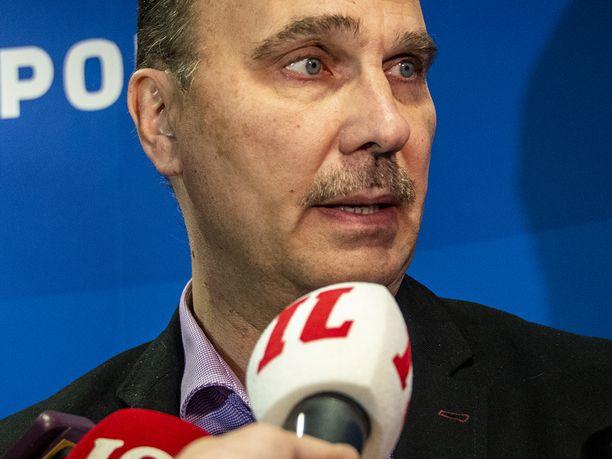 Rikoskomisario Olli Töyräs.