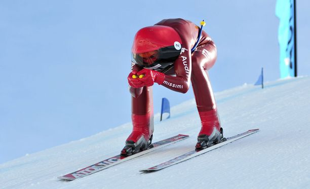 Simone Origone tuli Chabrieres-rinnettä alas 252,632 kilometrin tuntivauhtia.