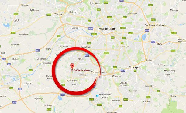 Uusi pommiuhka oli noin 15 kilometrin päässä Manchesterin keskustasta.