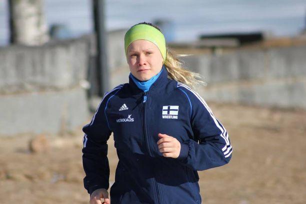 Lappajärven Veikkojen Petra Olli lataa usein akkujaan lenkkeilemällä luonnonrauhassa.