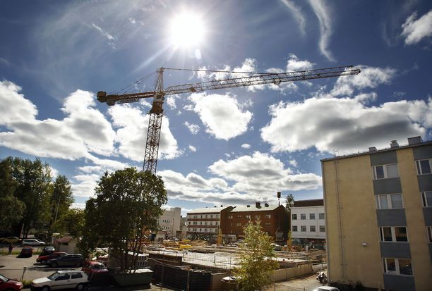 Suomen talous on elpymässä useiden nihkeiden vuosien jälkeen. Muun muassa rakentaminen on kovassa kasvussa.