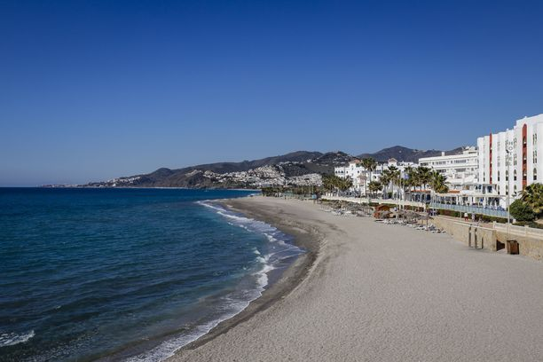 Costa del Solin rannoilla on hyvin tilaa.