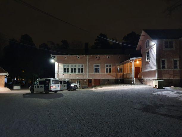 Turun Kärsämäessä oli torstai-iltana poliisioperaatio.