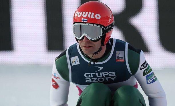 Janne Ahosen kuntokäyrä on lupaavassa nousussa ennen Lahden MM-kisoja.