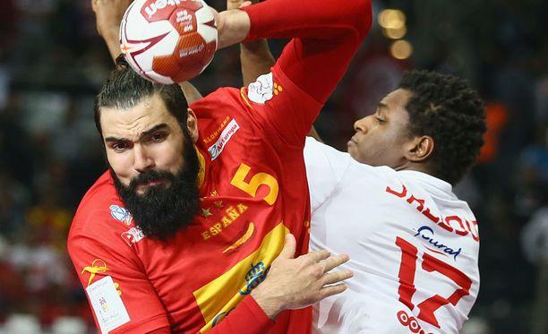 Käsipallon MM-kisapeli Espanja-Tunisia oli monivedon kohteena viime sunnuntaina.