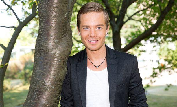 Sauli Koskinen on innokas harjoittelija.