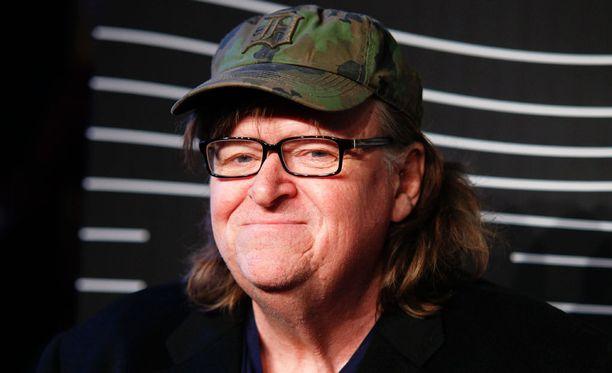 Ohjaaja Michael Moore on tehnyt vähin äänin elokuvaa presidenttiehdokas Donald Trumpista.
