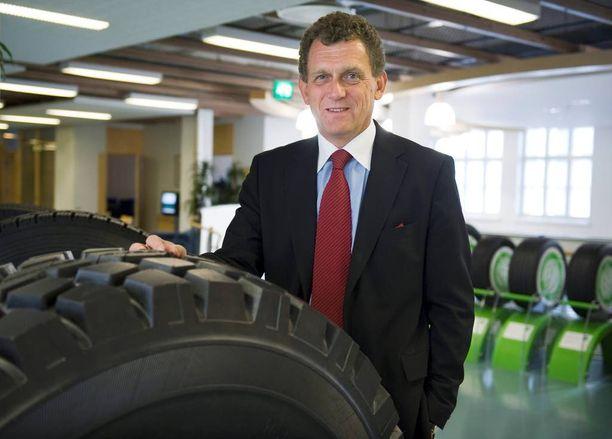 Nokian Renkaiden entinen toimitusjohtaja Kim Gran, 61, takoi rengasyhtiössä miljoonatilin ja muutti Portugaliin eläkepäiviään viettämään.