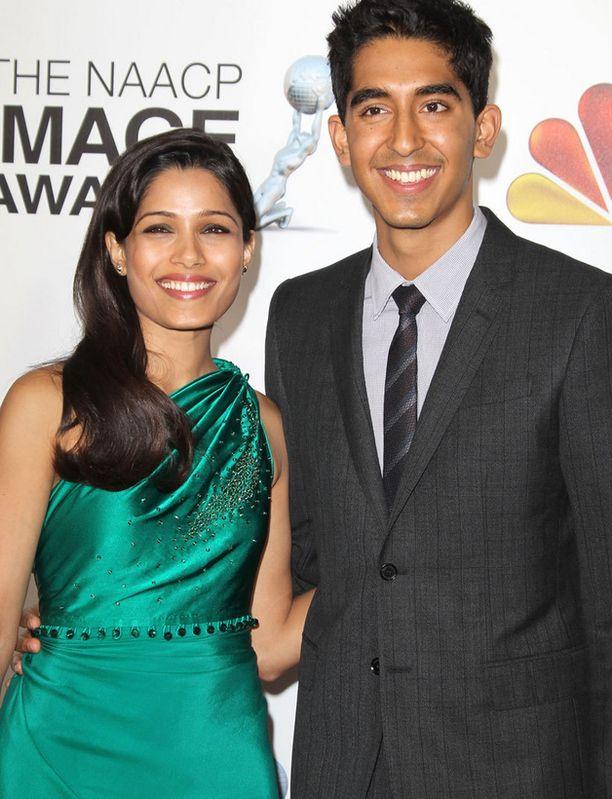 Freida Pinton ja Dev Patelin kemiat kohtasivat Slummien miljonääri -elokuvassa, eikä liekki ole sittemmin sammunut.