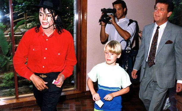 Michael Jackson ystävystyi 12-vuotiaan Macaulay Culkinin kanssa.