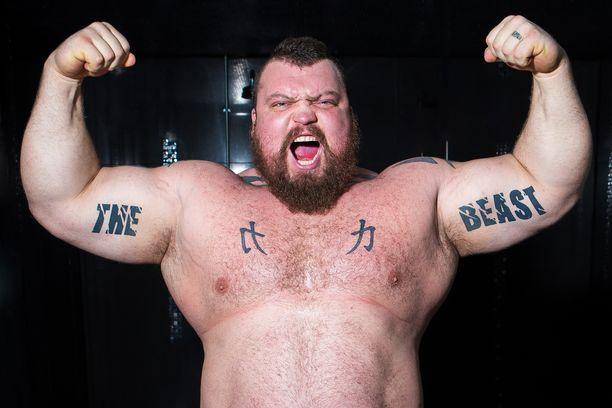 Eddie Hallin tuorein tavoite oli painaa 170 kiloa ja olla samalla hyvässä kunnossa. Nyt mies kertoi päässeensä tavoitteeseensa.