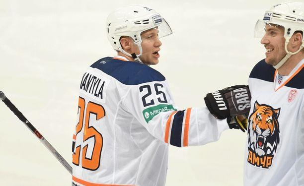 Tuukka Mäntylän edustama Amur kohtaa Sibirin sekä 24. että 25. päivä.