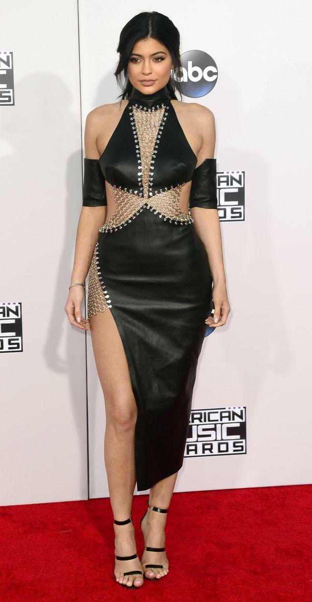 Kylie Jenner ikuistettuna vuonna 2015.