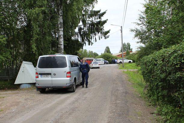 Laukaassa etsittiin kadonnutta lasta elokuun lopussa.