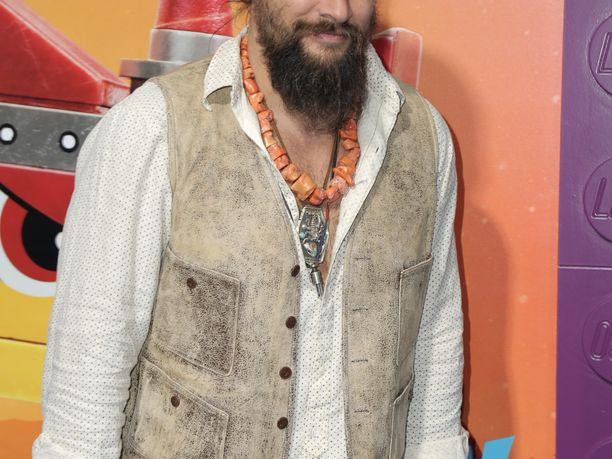 Jason Momoa, 39, tunnetaan esimerkiksi roolistaan Khal Drogona Game of Thronesissa.