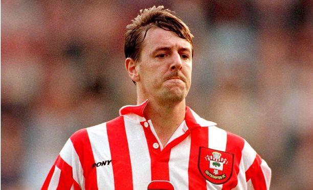 Matt Le Tissier pelasi Southamptonissa lähes 450 ottelua vuosina 1986–2002.