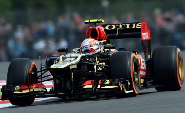 McLaren valitti tämän auton jousituksista FIA:lle.