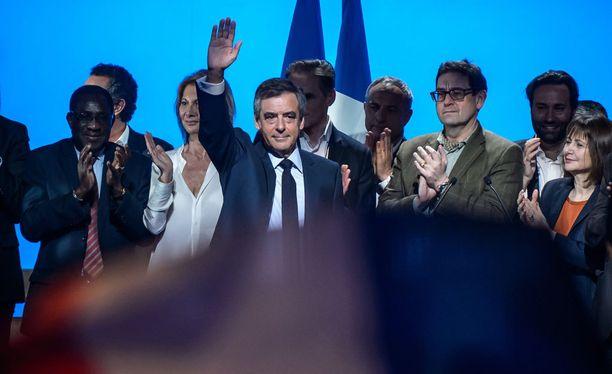 Tasavaltalaispuolueen presidenttiehdokkas Francois Fillon.