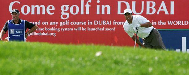 Tiger Woods on mukana samassa kisassa kuin Mikko Ilonen.