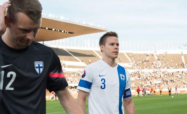 Niklas Moisander on sairastanut yli viikon maajoukkueleirillä.