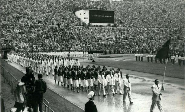 Horace Ashenfelter voitti olympiakultaa Helsingissä vuonna 1952.