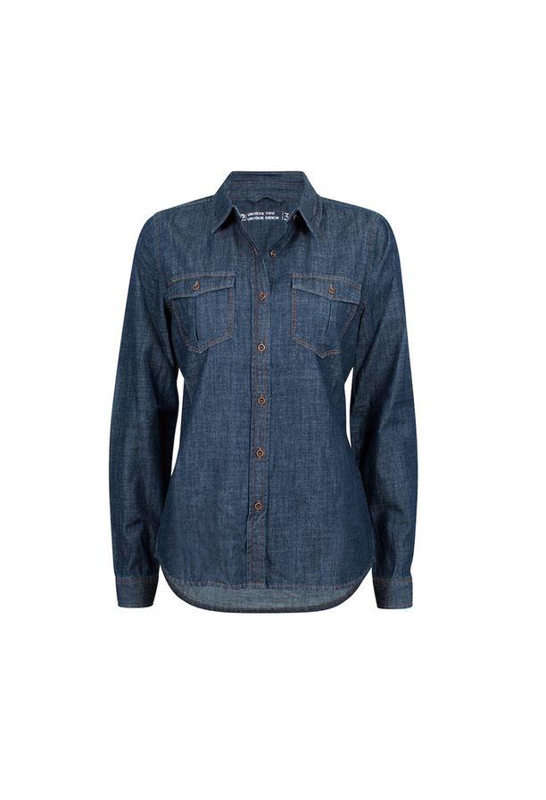 Klassinen farkkupaita toimii vuoden ympäri. Nappaa omasi puoleen hintaan, 14,98 e, Cubus.