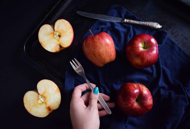 Omenassa on terveyttä edistäviä kuituja.