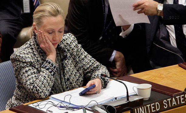 Kaikkia Hillary Clintonin käyttämiä laitteita ei ole löydetty.