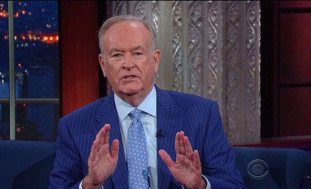 Bill O'Reillyn mukaan useiden naisten esittämissä ahdistelusyytöksissä ei ole mitään perää.