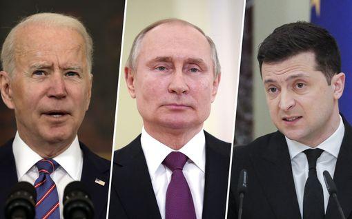Tilanne Ukrainan rajalla kiristyy: Venäjä varoittaa länsimaita – Biden lupaa vankkumatonta tukea Ukrainalle