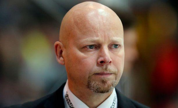 Marko Virtanen ihaili joukkueensa uhrautuvaa peliä.