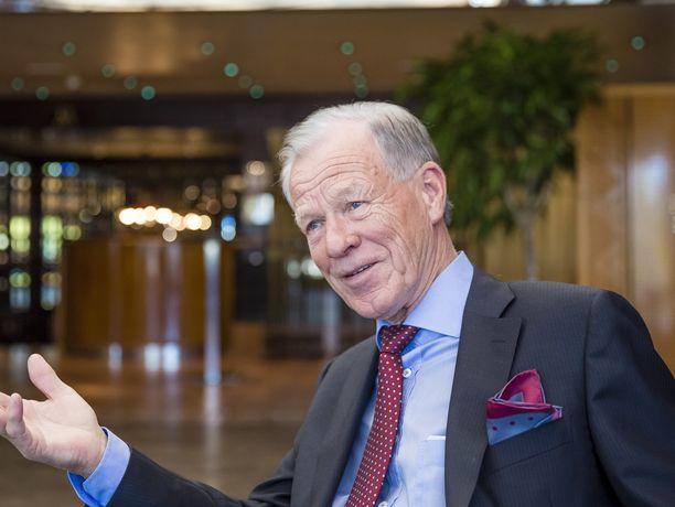 Ahvenanmaan rikkain mies Anders Wiklöf.