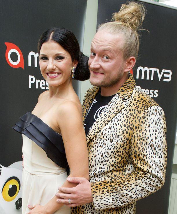 Anna-Liisa Bergström ja Jarppi Leppälä.