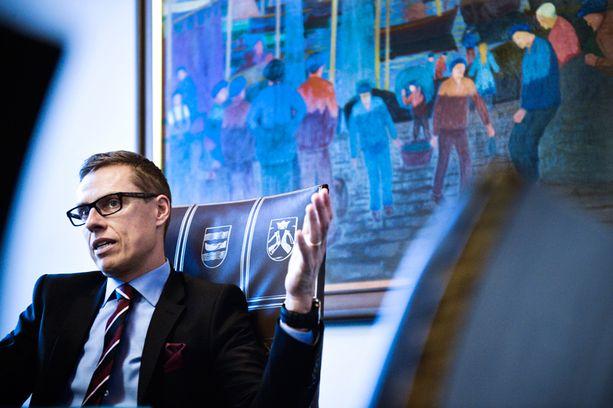 Stubb kertoi perjantaina lähtevänsä ehdolle eurovaaleihin.