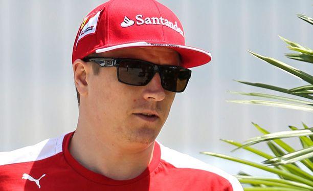 Kimi Räikkönen pääsee kyykyttämään tällä kaudella Fernando Alonsoa.