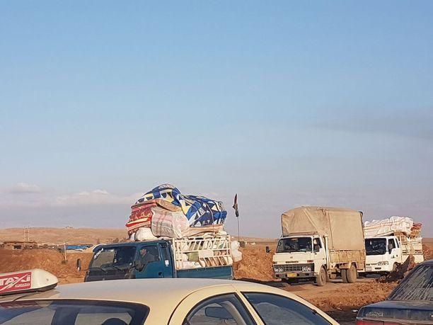 Ihmiset haluavat palata koteihinsa pakolaisleireiltä, vaikka Mosul on käytännössä raunioina.