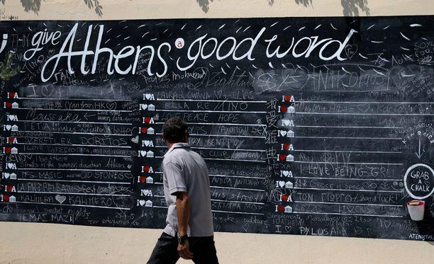 Neuvottelujen piti alkaa perjantaina Ateenassa, mutta niitä lykättiin.