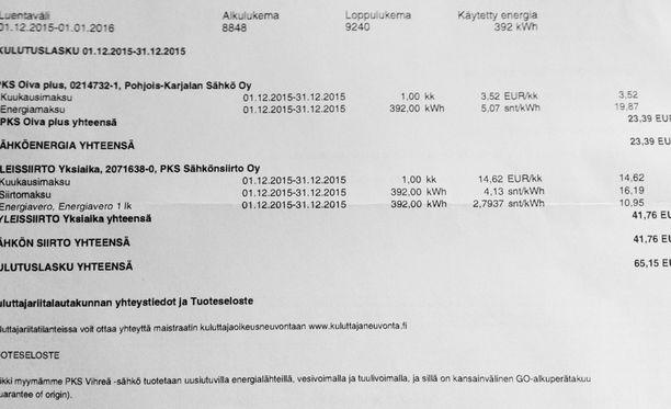 Iltalehden lukija kirjoittaa, että Pohjois-Karjalassa oltaisiin iloisia Carunan hinnoista. Caruna ei vielä ihan yllä samoihin hintoihin mitä PKS sähkönsiirto on pitänyt jo vuosia.