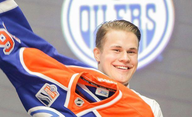 Jesse Puljujärvellä on ollut syytä hymyyn Edmontonissa.