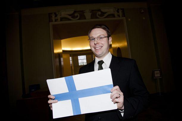 Kansanedustaja Vesa-Matti Saarakkala (sin) on eduskunnan taksipörssin kärkinimi.