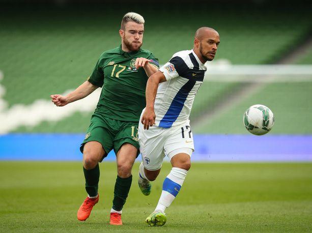 Nikolai Alho palasi Huuhkajiin syyskuussa Kansojen liigassa Irlantia vastaan.