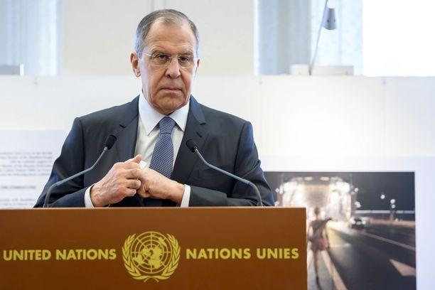 Venäjän ulkoministeri Sergei Lavrov ilmaisi huolensa USA:n ydinasestrategiasta.