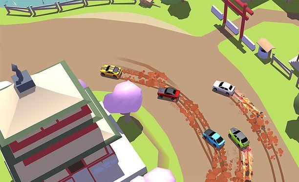 Skidstorm-ajopelissä kisataan muita pelaajia vastaan.