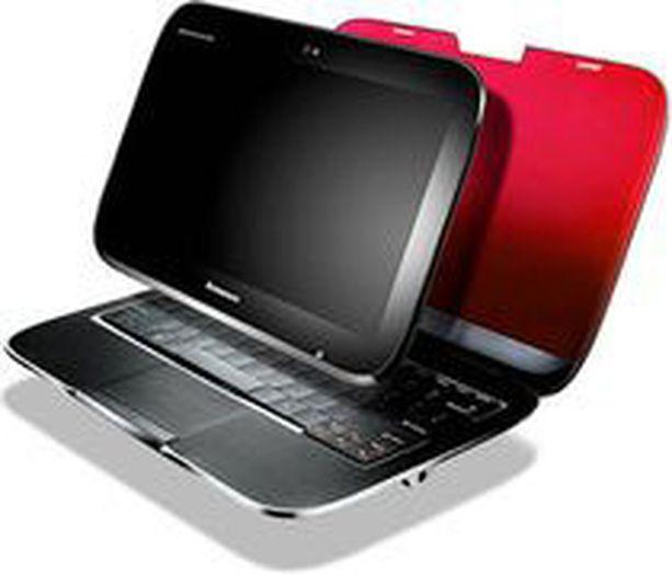 Ideapad U1 on minikokoinen pc-tietokone erillisellä näytöllä.
