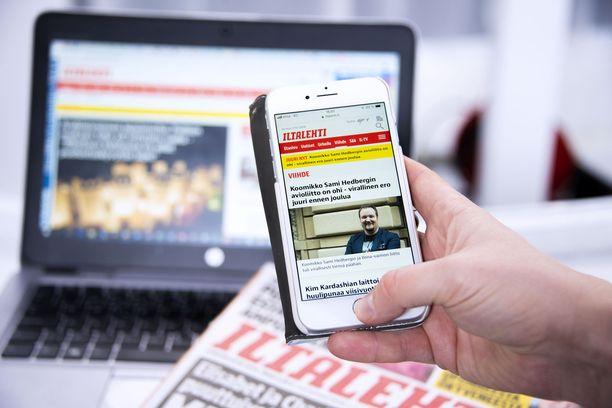 Iltalehti on kasvattanut lukijamääräänsä kovalla tahdilla vuonna 2018.