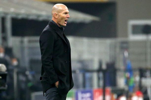 Zinedine Zidanen johtaja Real Madrid saattaa tehdä kyseenalaista historiaa.