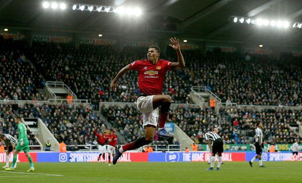 Marcus Rashford on yksi heistä, jotka ovat roihahtaneet aivan uudenlaiseen liekkiin sen jälkeen, kun Manchester Unitedissa vaihtui päävalmentaja.