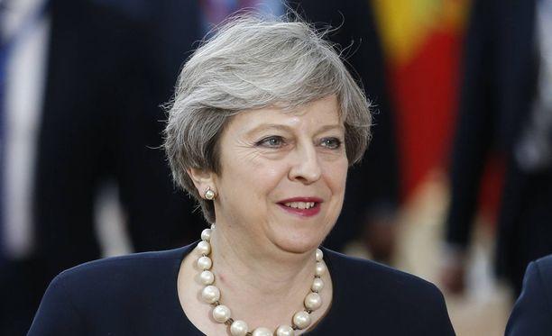 Theresay May teki tarjouksen EU-johtajille Brysellin huippukokouksessa.